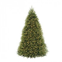 10 ft. Dunhill Fir Artificial Christmas Tree with 1200 Clear Lights-DUH3-100LO-S 204145839