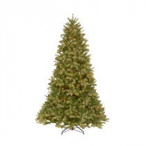 10 ft. FEEL-REAL Downswept Douglas Fir Artificial Christmas Tree with 1000 Clear Lights-PEDD4-312-100 204153709