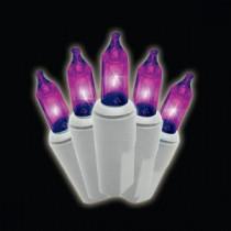 100-Light Mini Purple Lights (Set of 2)-37-374-20 204640905