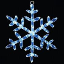 18 in. 24 LED White Snowflake Tube Light-46-725-00 204635319