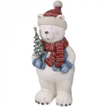 30 in. H Standing Polar Bear Statue-88A5508A 206059260