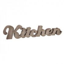 42 in. L Metal Kitchen Wall Sign-93058 206636366