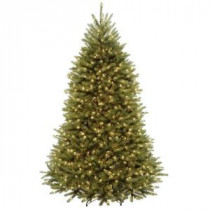 6.5 ft. Dunhill Fir Artificial Christmas Tree with 650 Clear Lights-DUH3-65LO 205983443