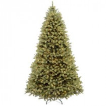 7.5 ft. FEEL-REAL Downswept Douglas Fir Artificial Christmas Tree with 1000 Clear Lights-PEDD4-310-75 204159697