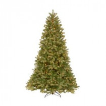 7.5 ft. Feel-Real Downswept Douglas Fir Artificial Christmas Tree with 750 Clear Lights-PEDD4-312-75 204153695