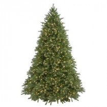 7.5 ft. FEEL-REAL Jersey Fraser Fir Artificial Christmas Tree with 1250 Clear Lights-PEJF4-300-75 204162113