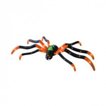 Airflowz 20 ft. Inflatable Orange and Black Giant Spider-66793 206852854