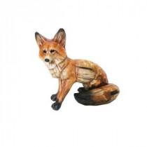 Alpine 15 in. Sitting Fox Statuary-AJY162 206212919