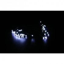 Alpine 60-Light White LED's Solar String Lights - Display of 8-SJK146SLR 207140356