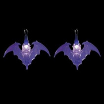 Brite Star LED Purple Battery Operated Bat Lights (Set of 10)-97-108-20 203040686