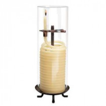 Candle by the Hour 80 Hour Coil Citronella Candle with Glass Globe-20559BCC 100652487
