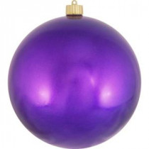 Christmas by Krebs 200 mm Vivacious Purple Shatterproof Ball (Pack of 6)-CBK26011 204509853