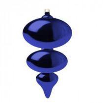 Christmas by Krebs Azure Blue 380 mm Jumbo Shatterproof Finial (Pack of 4)-CBK26120 203479023