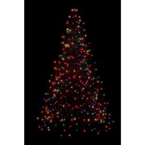 Crab Pot Trees 5 ft. Pre-Lit Incandescent Artificial Christmas Tree with 280 Multi-Color Lights-G5M 205471513