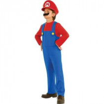 Disguise Child Super Mario Bros Mario Costume-R883653_S 205479003