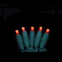 EcoSmart 100-Light Red Micro-Style LED Light Set-4001165W-03SHO 206771092