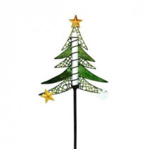 EZSolar Solar Powered LED Tree Christmas Stake-MPP901-AA-1 206488160