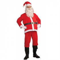 Forum Novelties Disposable Adult Santa Clause Costume-65447F_STD 204451324