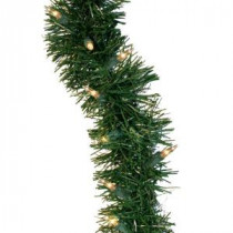 GE 36 ft. Holiday Classics Artificial Garland with 100 Clear Lights-84926HD 203267267
