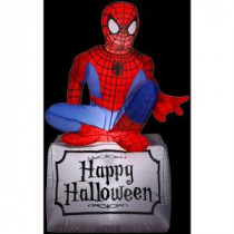 Gemmy 3.5 ft. Inflatable Halloween Spider-Man-55506X 206355145