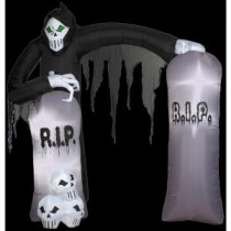 Gemmy 8.5 ft. Inflatable Archway Reaper-50246X 206355139