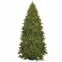 General Foam 12 ft. Pre-Lit Carolina Fir Artificial Christmas Tree with Clear Lights-HD-21612C7 203320781
