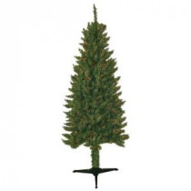 General Foam 6 ft. Pre-Lit Slender Spruce Artificial Christmas Tree with Multi-Color Lights-HD-LP60M3 203321217