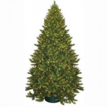 General Foam 9 ft. Pre-Lit Carolina Fir Artificial Christmas Tree with Clear Lights-HD-21690C9 203321347