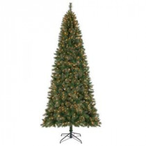 Home Accents Holiday 10 ft. Juniper Spruce Quick-Set Artificial Christmas Tree with 900 Clear Lights-TGA0M4B65C00 204007672