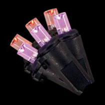 Home Accents Holiday 100-Light LED Alternating Purple and Orange Light Set, 3 Functions-TY033-1625 206770945