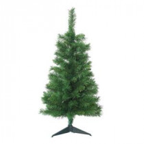 Home Accents Holiday 3 ft. Unlit Tacoma Pine Artificial Christmas Tree-ZB118P 202535888