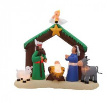 Home Accents Holiday 6 ft. H Inflatable Nativity Scene-36707 205920213
