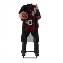 Home Accents Holiday 65 in. Headless Horseman with Jack-O-Lantern Head-4302-72089HD 206762922