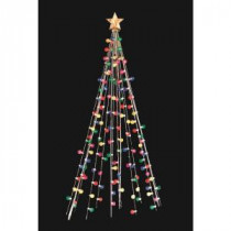 Home Accents Holiday 7 ft. Cone Tree with 105 Multi-Color Lights-TY171-1218 202725340