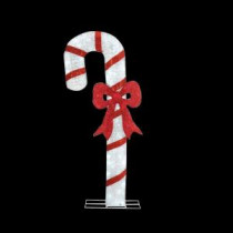 Home Accents Holiday 71 in. LED Lighted Twinkling Acrylic Candy Cane-TY252-1611-1 206963131