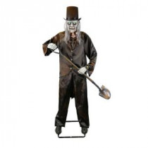 Home Accents Holiday 72 in. Animated Grave Digger Skeleton with LED Illuminated Eyes-6330-72634HDD 206762913