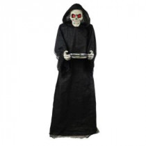 Home Accents Holiday 72 in. Bobble-Head Reaper with Candy Tray-6330-72718 206770898