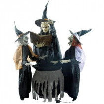 Home Accents Holiday 74.5 in. Enchanting Witch Trio-5127072 206770895