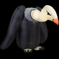 Home Accents Holiday 77.17 in. W x 90.16 in. D x 64.57 in. H Inflatable Vulture-72097 206762488
