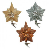 Home Accents Holiday Holiday Shimmer Stars (12-Count)-HEGL32 207045469