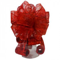 Home Accents Holiday Red Tree Topper Bow-6339AS40RDHD 205919957