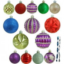 Home Accents Holiday Shatter-Resistant Assorted Ornament (100-Count)-HEG1681 206953592