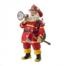 Kurt S. Adler 11 in. Fabriche Fireman Santa-C7445 300587903