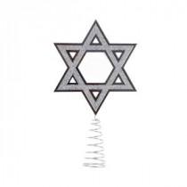 Kurt S. Adler Silver Hanukkah Tree Topper-YHDUH0260 300091462