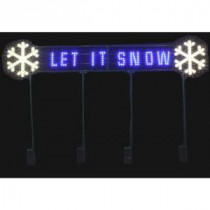 LED Message - Let It Snow-7407456UHO 206963311