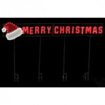 LED Message - Merry Christmas/Santa Hat-7407406UHO 206963275