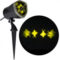 LightShow 11.81 in. Projection-Whirl-a-Motion-Fireflies Light Stake-49289 206832938