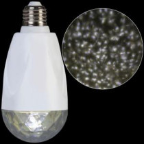 LightShow LED Projection Standard Light Bulb-Kaleidoscope White-39953 206768242