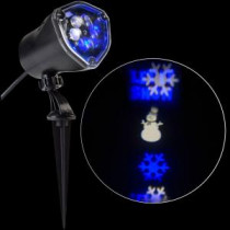 LightShow LED Projection Whirl-a-Motion-Snowman BBWW Stake Light Set-80730 206768211