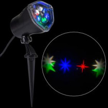 LightShow LED Projection-Whirl-a-Motion-Stars RGBW Stake Light-80735 206768246